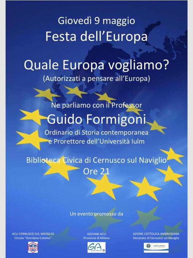 Festa dell'Europa - Quale Europa vogliamo